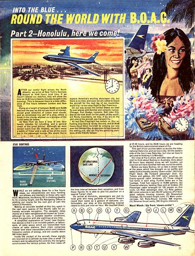 Into the Blue: Round the World with B.O.A.C. -- Honolulu, Here We Come!.