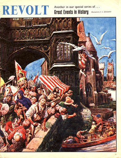 Great Events in History: The Peasant's Revolt of 1380.
