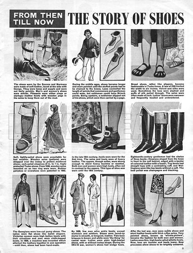 From Then Till Now: The Story of Shoes.