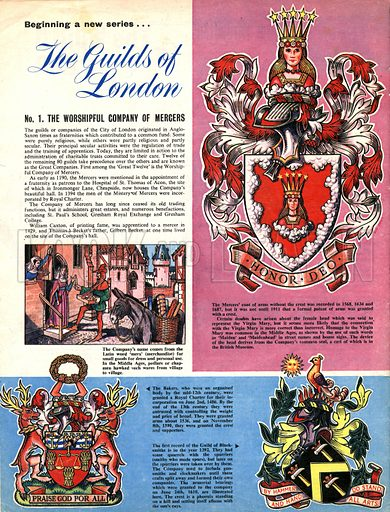 The Guilds of London: The Worshipful Company of Mercers.