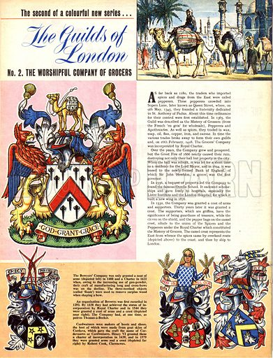The Guilds of London: The Worshipful Company of Grocers.