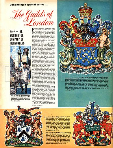 The Guilds of London: The Worshipful Company of Fishmongers.