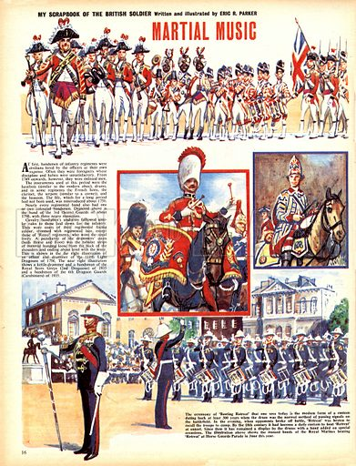 My Scrapbook of the British Soldier: Martial Music.