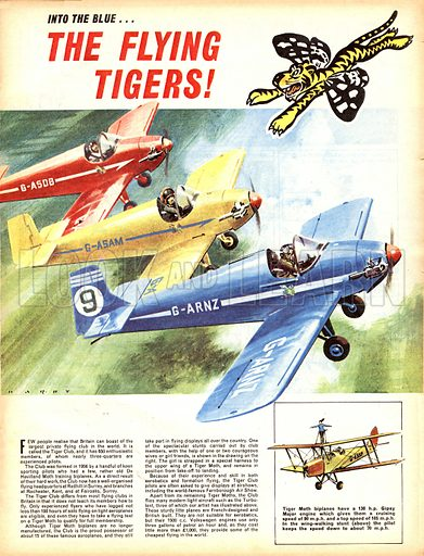 Into the Blue: The Flying Tigers!.
