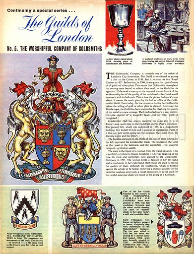 The Guilds of London: The Worshipful Company of Goldsmiths.