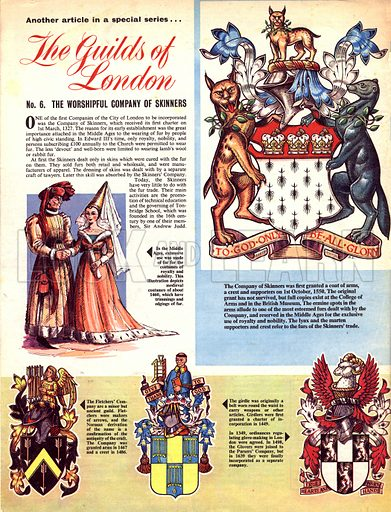 The Guilds of London: The Worshipful Company of Skinners.