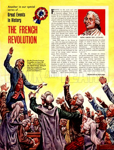 Great Events in History: The French Revolution.