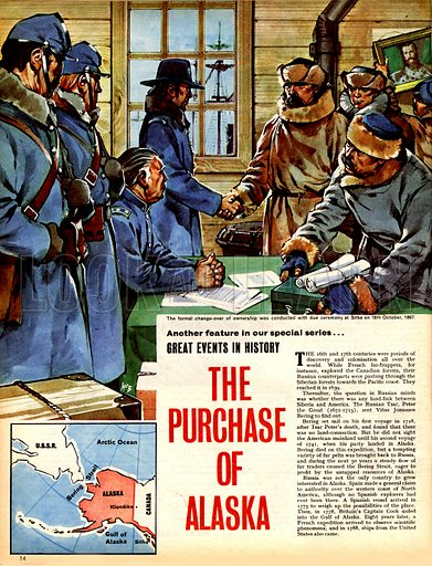Great Moments in History: The Purchase of Alaska.
