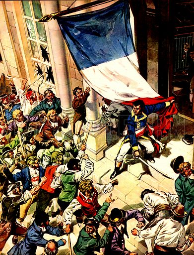 Sweden Chooses a French King. In January 1788, Napoleon sent Marshal Bernadotte to Vienna as ambassador. In April, a mob attacked the French embassy. During the riot, Bernadotte distinguished himself by holding off the rioters single-handed.