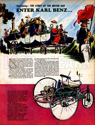 The Story of the Motor Car: Enter Karl Benz...