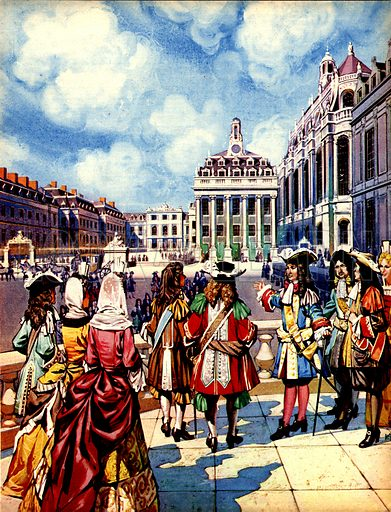 Great Events in History: Louis XIV Builds Versailles.