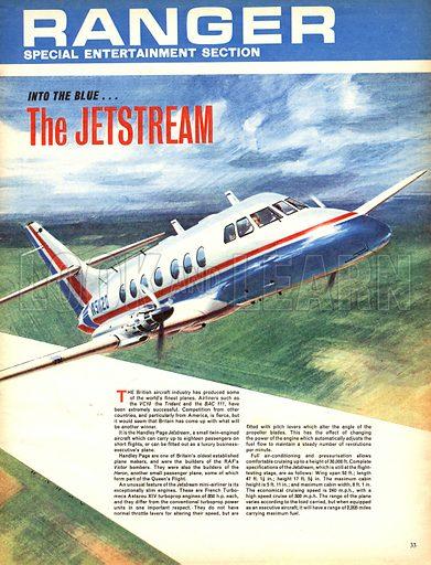 Into the Blue: The Jetstream.