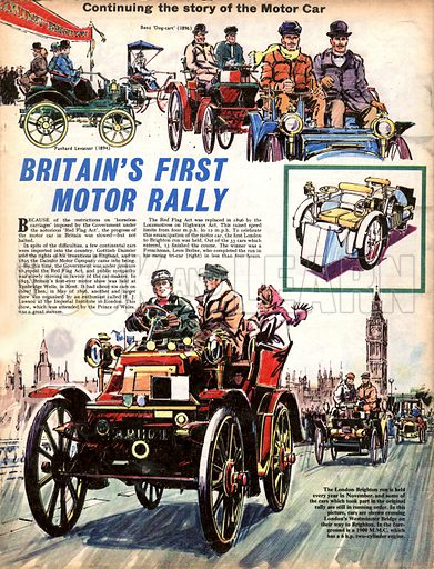 The Story of the Motor Car: Britain's First Motor Rally.
