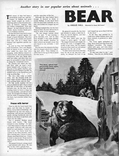 Bear Trap! A story by Angus Hall.