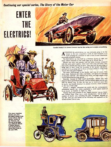 The Story of the Motor Car: Enter the Electrics!.