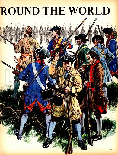 Great Events in History: THe Shot Heard Round the World. Seventy American colonists faced a thousand British regulars. A shot was fired. To this day, no one knows who fired it, but it was to alter the whole course of history.