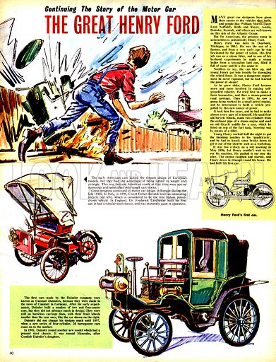The Story of the Motor Car: The Great Henry Ford.