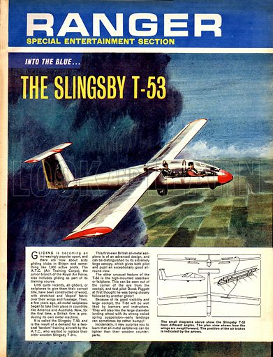 Into the Blue: The Slingsby T-53.