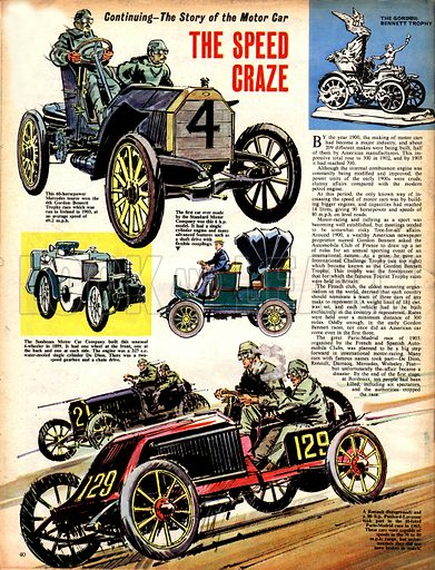 The Story of the Motor Car: The Speed Craze.