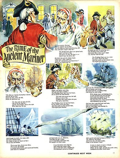 The Rime of the Ancient Mariner. Based on the poem by Samuel Taylor Coleridge.