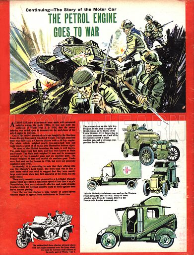 The Story of the Motor Car: The Petrol Engine Goes to War.