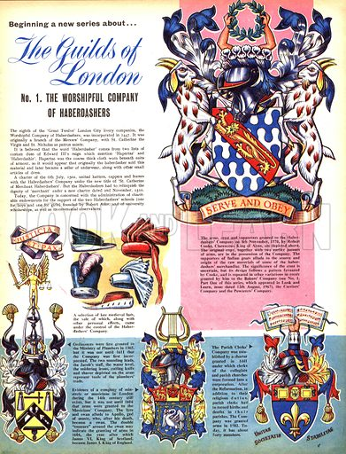 The Guilds of London: The Worshipful Company of Haberdashers.
