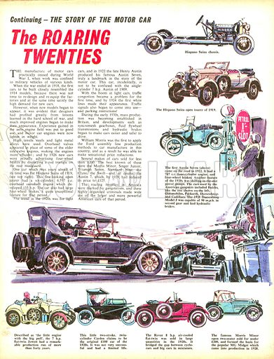 The Story of the Motor Car: The Roaring Twenties.