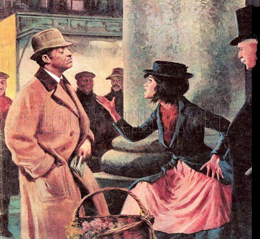 Famous Couples: Professor Higgins and Eliza Doolittle.