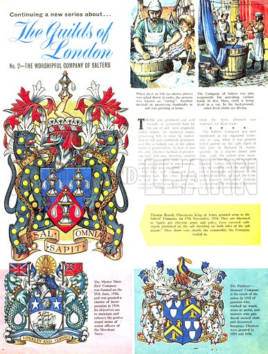 The Guilds of London: The Worshipful Company of Salters.