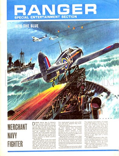 Into the Blue: Merchant Navy Fighter.