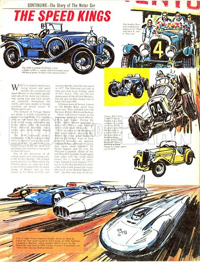 The Story of the Motor Car: The Speed Kings.