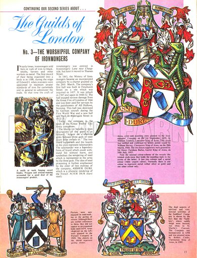 The Guilds of London: The Worshipful Company of Ironmongers.