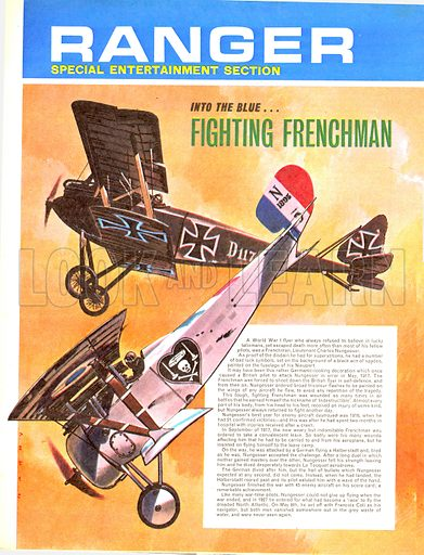 Into the Blue: Fighting Frenchman.