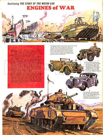 The Story of the Motor Car: Engines of War.