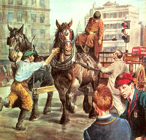 Animal heroes: A Horse Called Gracie. In 1953, Gracie was pulling a dray through London when her driver, Charlie Gardener, slumped forward. Gracie found her way back to the depot and stamped her hoof to attract attention. Her quick actions saved the driver's life.