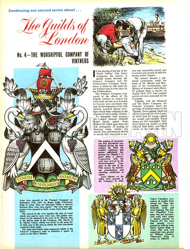 The Guilds of London: The Worshipful Company of Vinters.