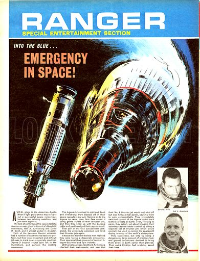 Into the Blue: Emergency in Space!.