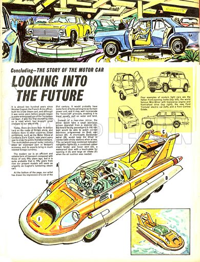 The Story of the Motor Car: Looking Into the Future.