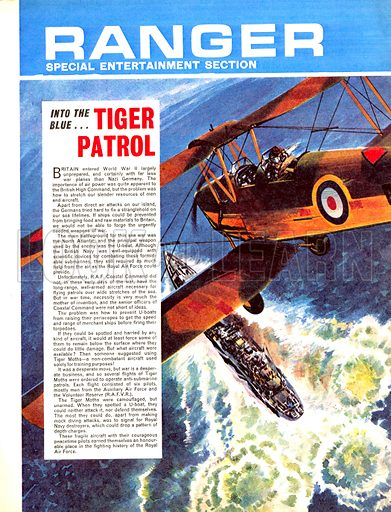 Into the Blue: Tiger Patrol.