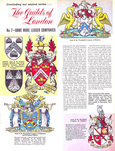 The Guilds of London: Some More Lesser Companies.