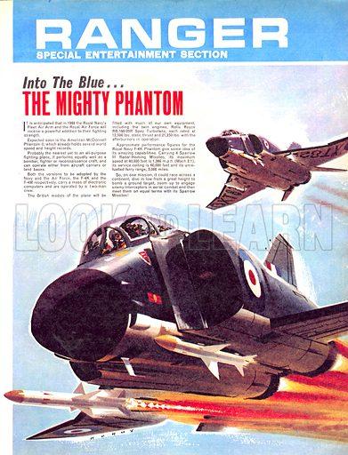Into the Blue: The Mighty Phantom.