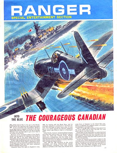 Into the Blue: The Courageous Canadian.
