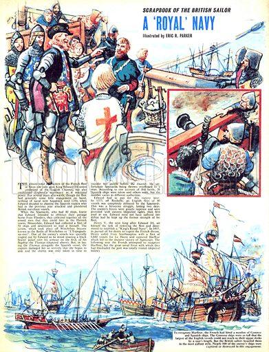 Scrapbook of the British Sailor: A 'Royal' Navy.