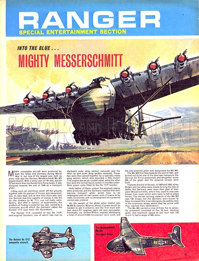 Into the Blue: Mighty Messerchmitt.