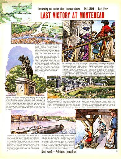 Famous Rivers -- The Seine: Last Victory at Montereau.