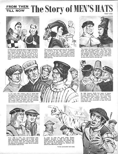 From Then Till Now: The Story of Men's Hats.
