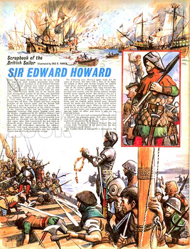 Scrapbook of the British Sailor: Sir Edward Howard.