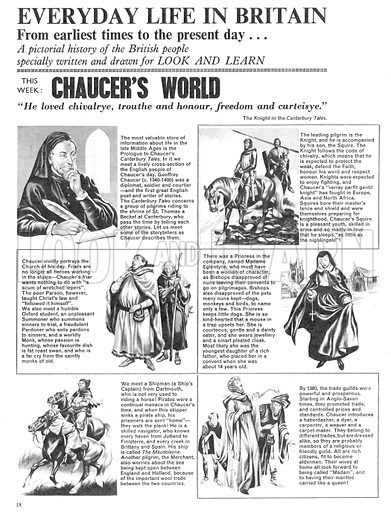 Everyday Life in Britain: Chaucer's World.