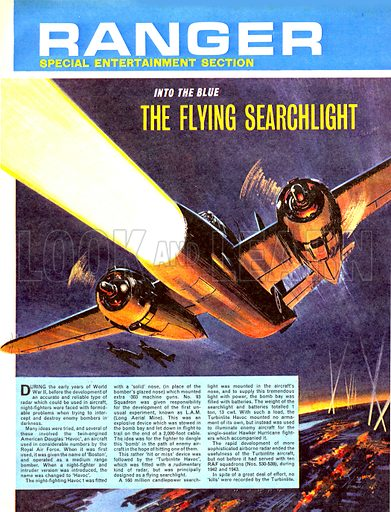 Into the Blue: The Flying Searchlight.