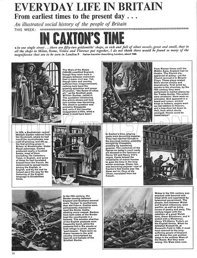 Everyday Life in Britain: In Caxton's Time.